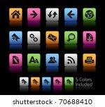 web navigation icons   color... | Shutterstock .eps vector #70688410