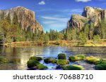 Yosemite Valley In Autumn