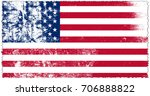 united states of america flag... | Shutterstock . vector #706888822