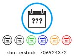 unknown day calendar page...   Shutterstock .eps vector #706924372