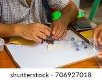 chanthaburi  thailand oct 15 ... | Shutterstock . vector #706927018