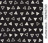 seamless primitive jumble... | Shutterstock .eps vector #706963765
