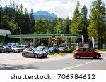 zakopane  poland  august 09 ...   Shutterstock . vector #706984612