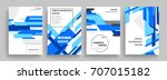 creative cover design. business ... | Shutterstock .eps vector #707015182