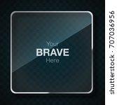 glass frame | Shutterstock .eps vector #707036956
