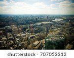 aerial view of the city of... | Shutterstock . vector #707053312