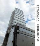 derelict concrete abandoned... | Shutterstock . vector #707064136