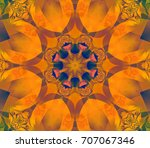 abstract background orange... | Shutterstock . vector #707067346