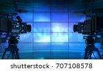 news in studio   3d rendering | Shutterstock . vector #707108578