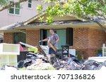 houston  texas   august 31 ... | Shutterstock . vector #707136826