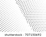 abstract halftone dotted... | Shutterstock .eps vector #707150692
