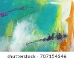 Textured Abstract Painting....
