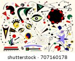 abstract white background ... | Shutterstock .eps vector #707160178