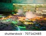 cu chi tunnels  ho chi minh...   Shutterstock . vector #707162485