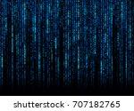 blue software codes | Shutterstock . vector #707182765