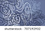 abstract background with... | Shutterstock .eps vector #707192932