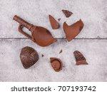 broken clay vase   Shutterstock . vector #707193742