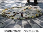imagine peace sign in central...   Shutterstock . vector #707218246