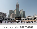 mecca  saudi arabia   september ... | Shutterstock . vector #707254282
