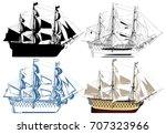 The Ancient Battleship Vector 10