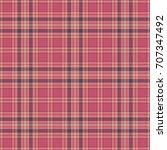 seamless plaid pattern | Shutterstock . vector #707347492