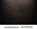 old brown leather texture for background - stock photo