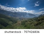 the autumn at yading nature... | Shutterstock . vector #707426836