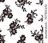 flower illustration pattern   Shutterstock .eps vector #707501152