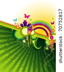 abstract color full. vector... | Shutterstock .eps vector #70752817