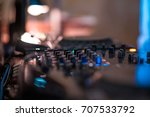 music controller for party... | Shutterstock . vector #707533792