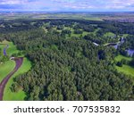 top view of parks in st.... | Shutterstock . vector #707535832