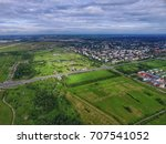 top view of parks in st.... | Shutterstock . vector #707541052