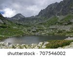 valley in high tatras  mlynska...   Shutterstock . vector #707546002