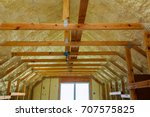 thermal and hidro insulation...   Shutterstock . vector #707575825