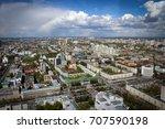city of yekaterinburg panorama  ... | Shutterstock . vector #707590198