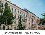luxury houses in berlin | Shutterstock . vector #707597902