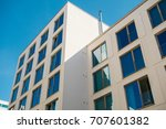 detailed view of block formated ... | Shutterstock . vector #707601382