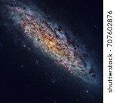 ngc 6503 is a field dwarf... | Shutterstock . vector #707602876