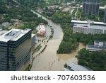 hurricane harvey impacts  ... | Shutterstock . vector #707603536