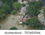 hurricane harvey impacts  ... | Shutterstock . vector #707603566
