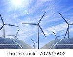 Small photo of Wind power and solar power