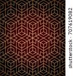 geometric pattern seamless | Shutterstock .eps vector #707619082