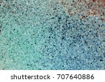 rainbow blurred dotted on white ... | Shutterstock . vector #707640886