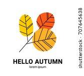 Hand Drawn Vector Autumn Leaves....
