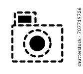 photographic camera icon | Shutterstock .eps vector #707719726