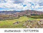 sacsayhuaman  saksaq waman ...   Shutterstock . vector #707729956