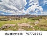 sacsayhuaman  saksaq waman ...   Shutterstock . vector #707729962