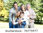 happy family | Shutterstock . vector #70775977