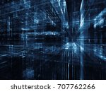 virtual space series. abstract... | Shutterstock . vector #707762266