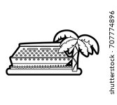 isolated cruise design | Shutterstock .eps vector #707774896